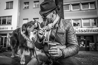 Miyamoto Musashi & his Tattoo-Master Olli Lonien | by Black&Light Streetphotographie