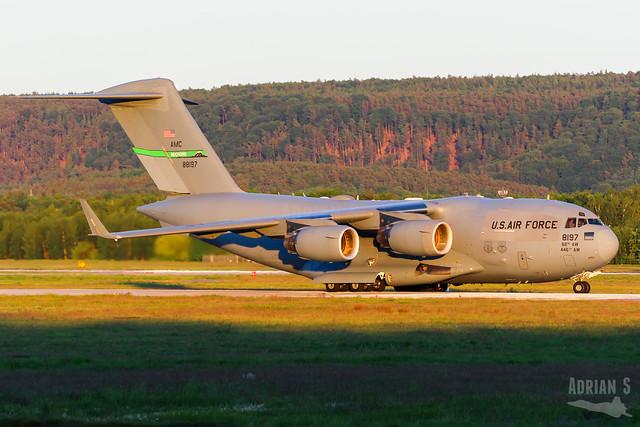 08-8197 C-17A Globemaster III | ETAR | 17.05.2020
