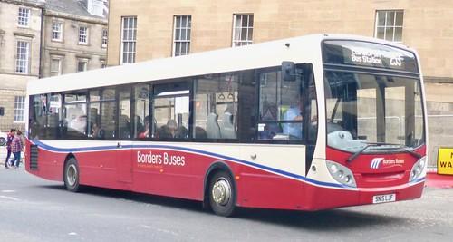 SN15 LJF 'Borders Buses' No. 11501. Alexander Dennis Ltd. (ADL) E30D / 'ADL' Enviro 300 on Dennis Basford's railsroadsrunways.blogspot.co.uk'