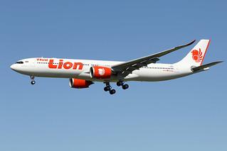 THAÏ  LION  AIR / Airbus   A 330-900   F-WWKM   msn 1956 / LFBO - TLS / mai 2020