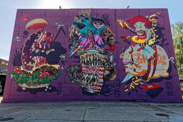 Graffiti 2019 in Magdeburg