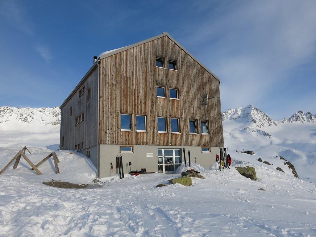 Keschhütte / Chamanna digl Kesch Albula Alpen Švýcarsko foto 03
