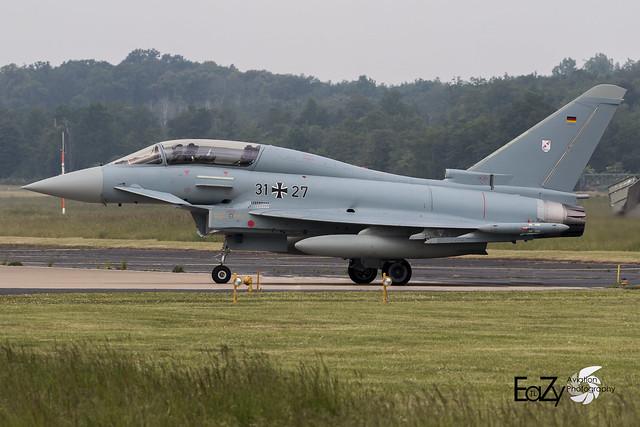 31+27 German Air Force (Luftwaffe) Eurofighter Typhoon
