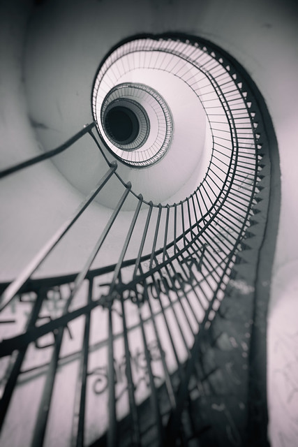 The old staircase