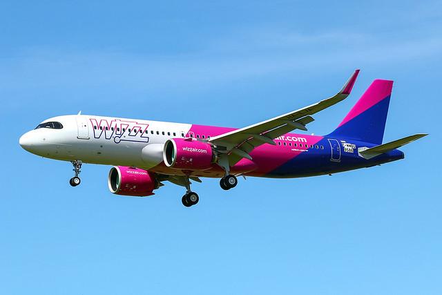 F-WWBQ Airbus A320 Neo Wizz Air