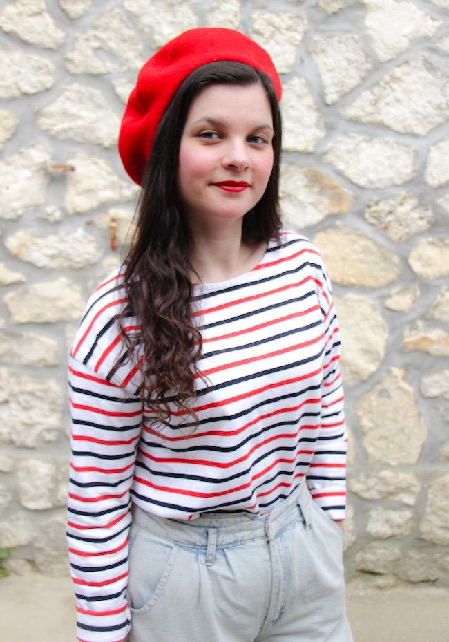 look-petite-frenchie-mariniere-jean-beret-ballerines-blog-mode-la-rochelle-02