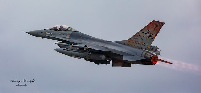 Belgium Air Force F16AM Falcon.