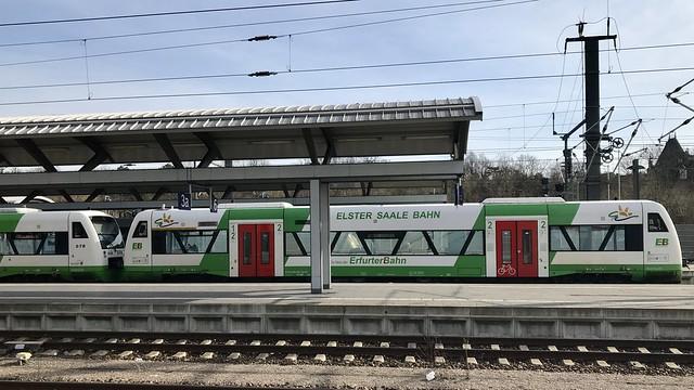 Erfurt Hauptbahnhof, Thuringia