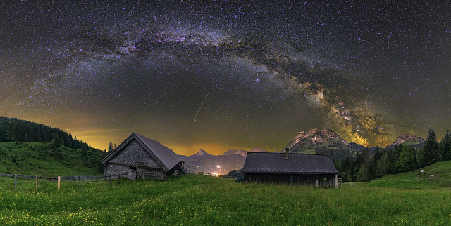 The Milky Way at Sattelegg [explored]