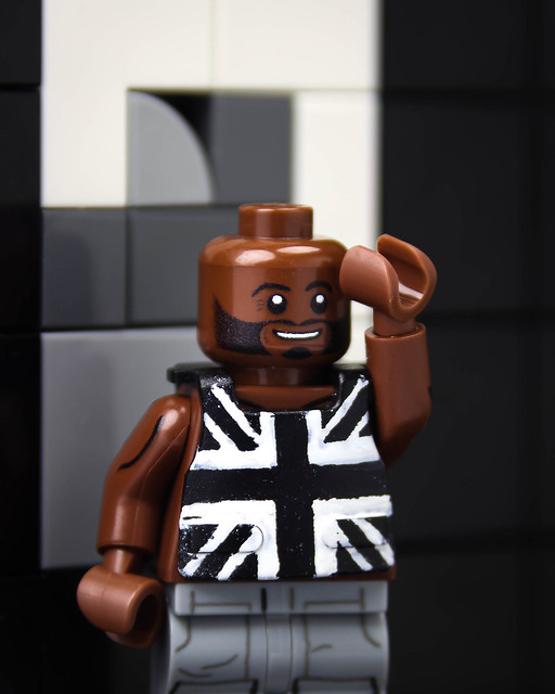 Lego Banksy Stormzy