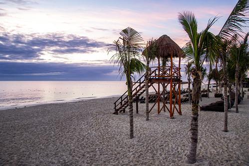 Road to the resort, Royalton Riviera Cancun Resort & Spa, Mexico