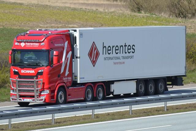 Scania NG - Herentes International Transport - EST  909  HER