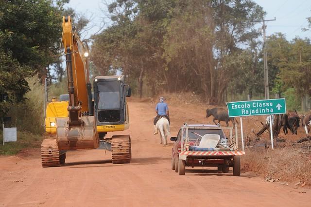 Mais duas pontes revitalizadas na região rural de Planaltina