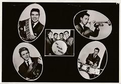 Ansichtkaart - The Black Birds (Foto v.d. Poel) 1964