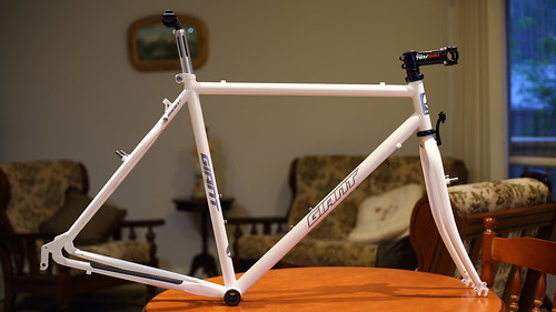 Restored 1993 giant Innova hybrid to Gravel Bike conversion