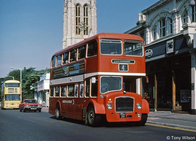 WNJ39 National Bus Company NBC Hants&Dorset H&D 3480