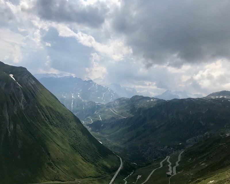 Mountain Pass Driving