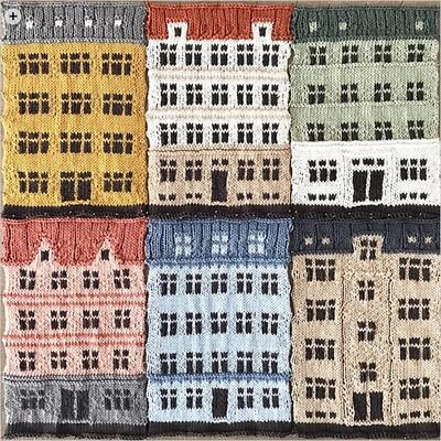 Copenhagen Building Blocks by Jake Henzler (@boy_knits_world) is a series of six grid patterns for knit blocks!