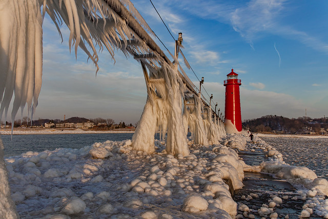 Looking back at Grand Haven