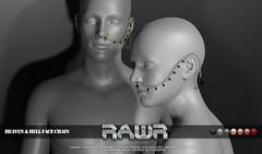 RAWR!  Heaven & Hell Face Chain