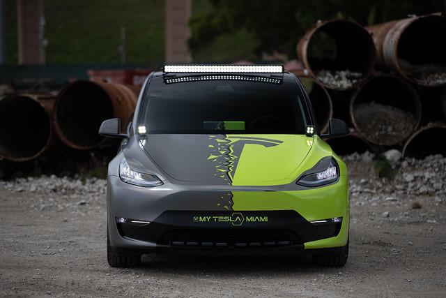 Tesla Model Y Performance Y BE BORING Project