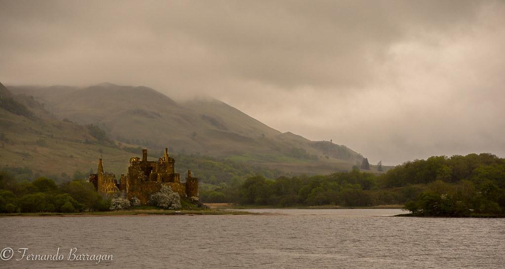 castillo de Kilchurn, scotland