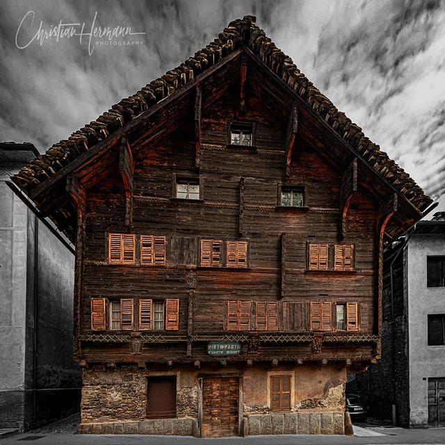 Vecchia casa, Faido, Switzerland