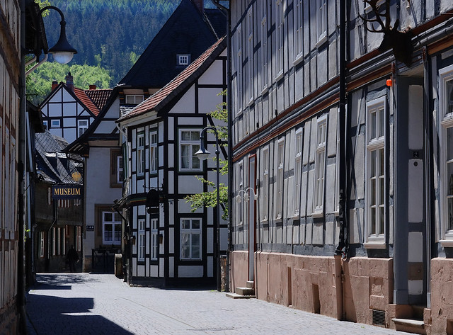 Stille (Lieblings-)Gasse mitten in Goslar