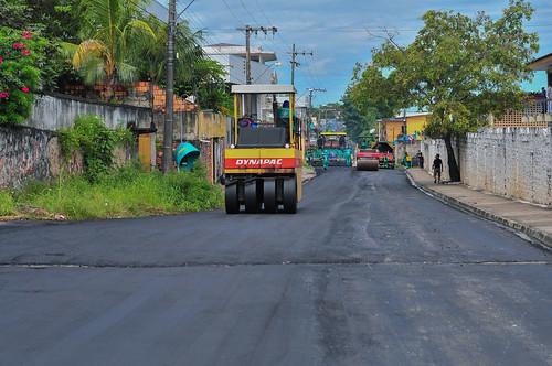 22.05.20. Requalifica 5 executa 5km de nova malha viária no bairro Petrópolis