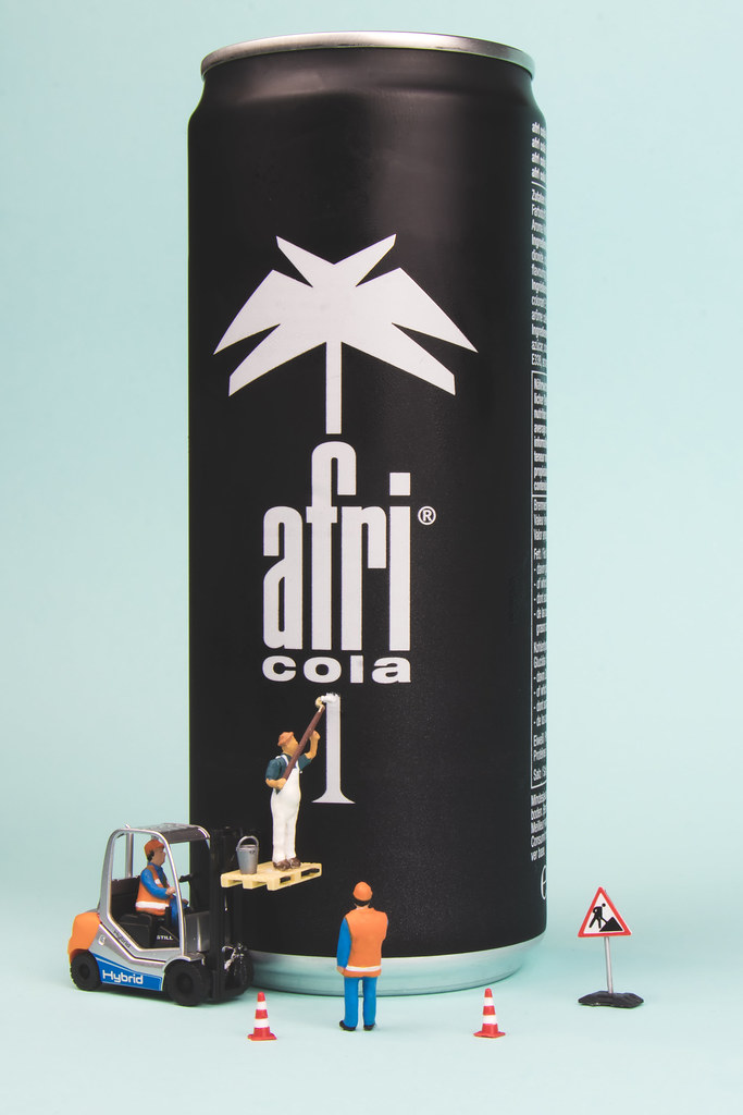 Neulich bei AFRI Cola im Werk