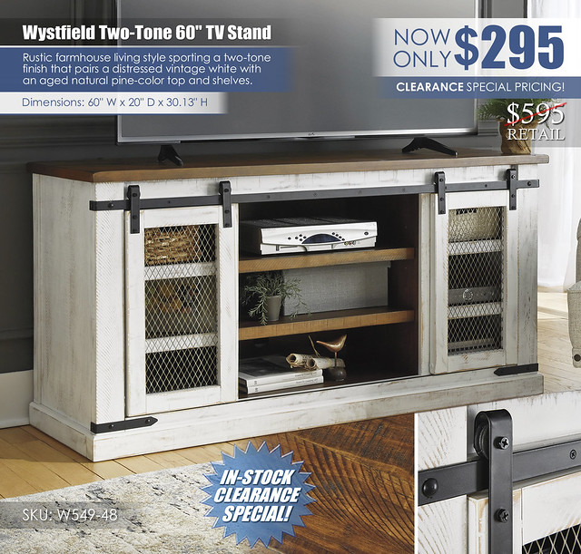 Wystfield 60in TV Stand_W549-48