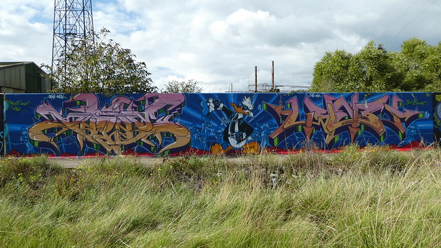 Shine & Quest + Sine graffiti, Lakeside