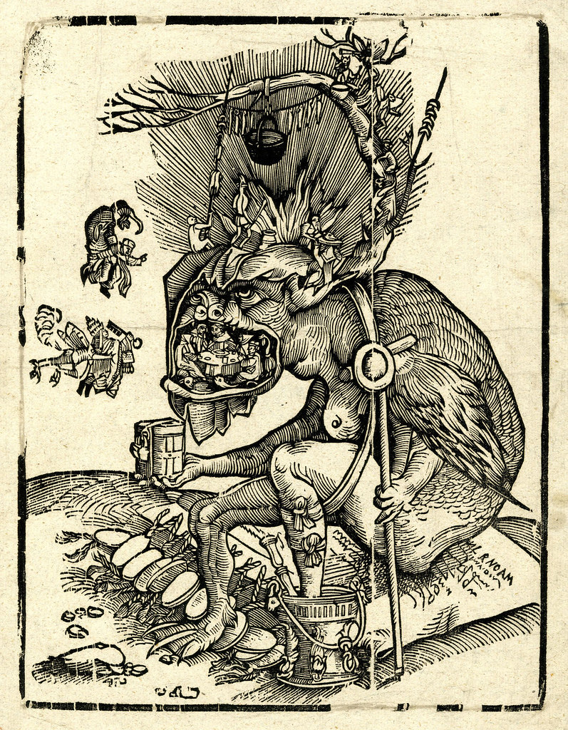 Matthias Gerung, Satire of Indulgences, before 1536