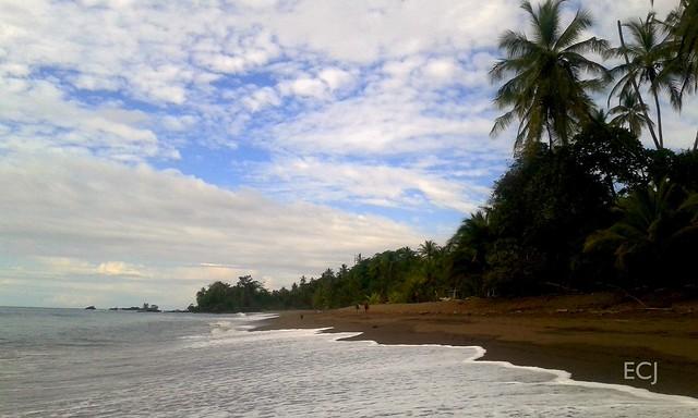 Serena soledad en playa Rincón, Osa /Serene solitude at Rincón beach, Osa municipality
