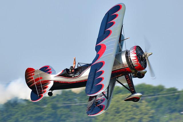 Kyle Franklin Demon-1 Biplane known as Dracula N669VP