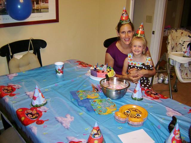 Viola's Fourth Birthday