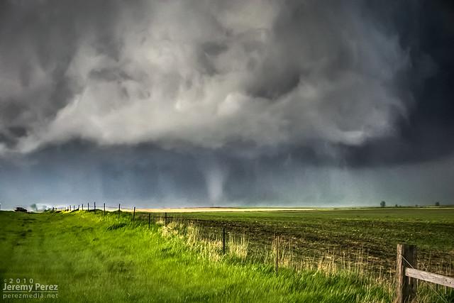 22 May 2010 — Bowdle, South Dakota — Tornado