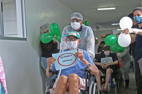 22.05.2020 Alta dos pacientes da Fundação Dr. Thomas