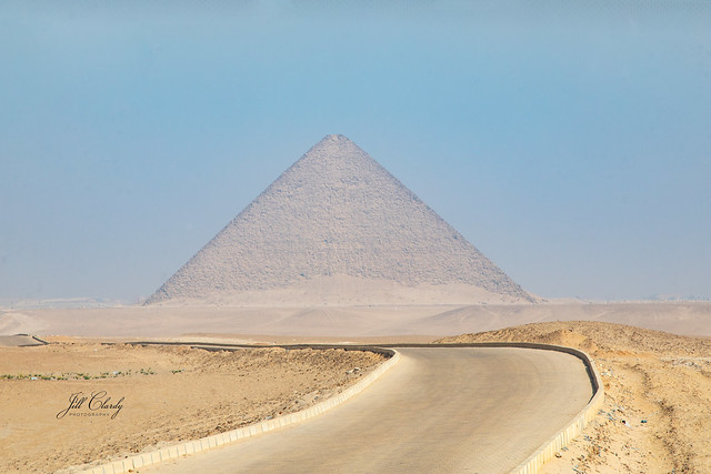 Armchair Traveling - The Red Pyramid at Dahshur