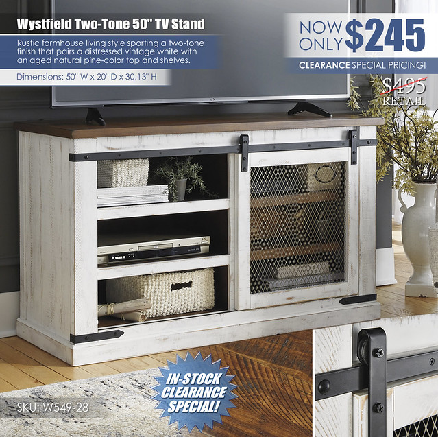 Wystfield 50in TV Stand_W549-28