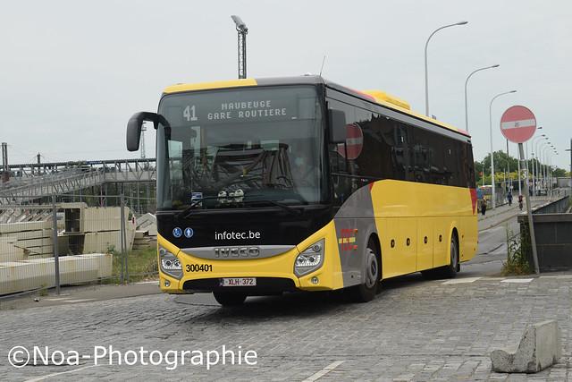 Iveco Evadys - 300401 - Les Cars du Hainaut