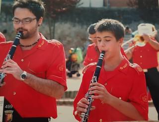 Gli esordi con il clarinetto