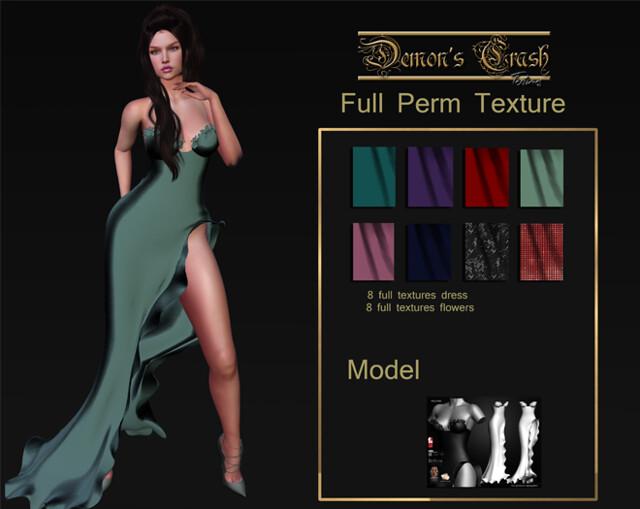 [DC] Textures – Industria- Full permission Spring Dress 1