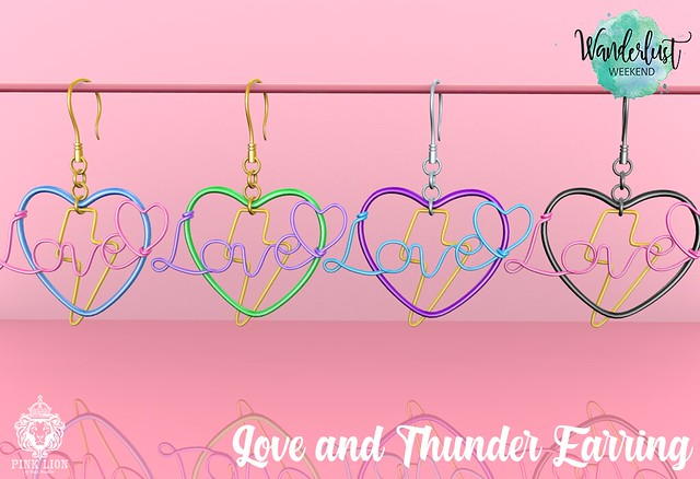Love and Thunder Earring