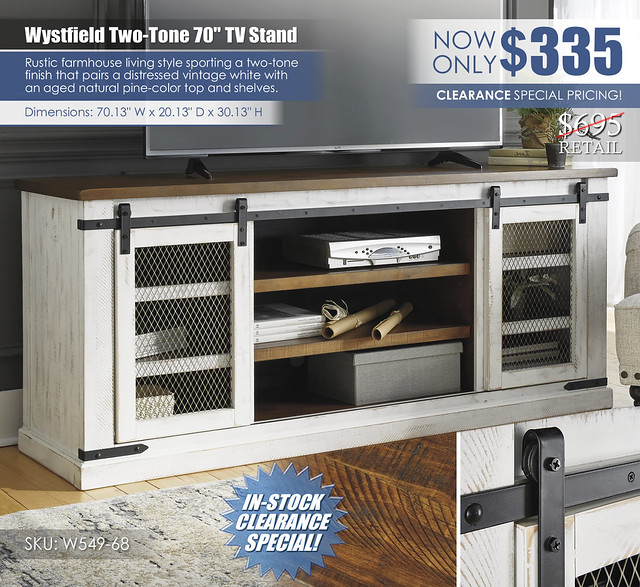 Wystfield 70in TV Stand_W549-68