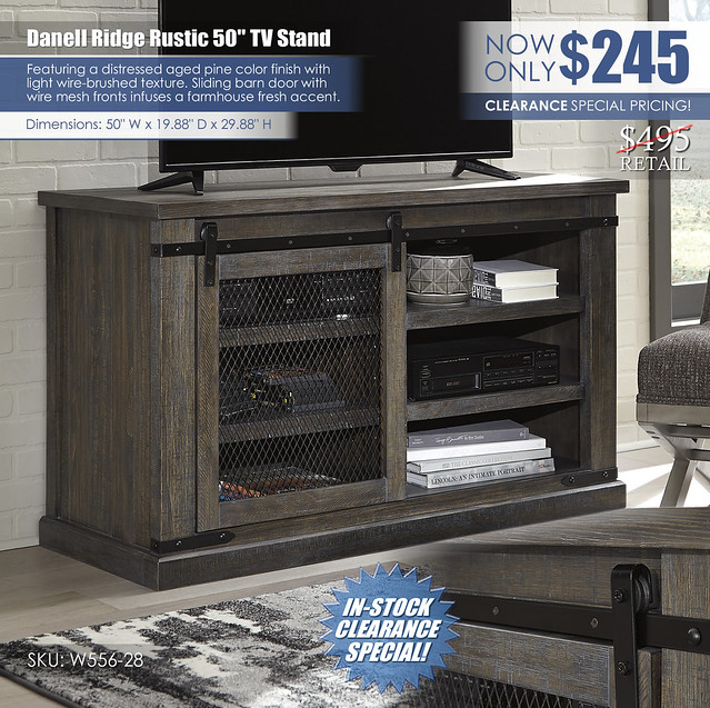 Danell Ridge 50in TV Stand_W556-28