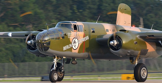 North American B-25 Mitchell bomber Called Berlin Express SN 43-4432 N10V