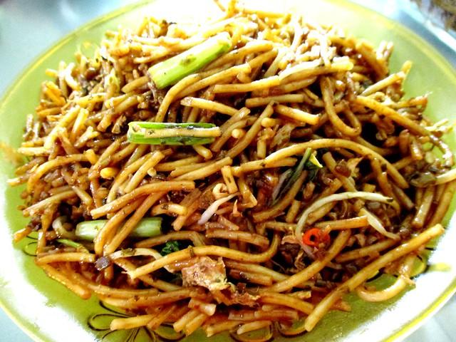Jiali Cafe fried chao chai hung ngang