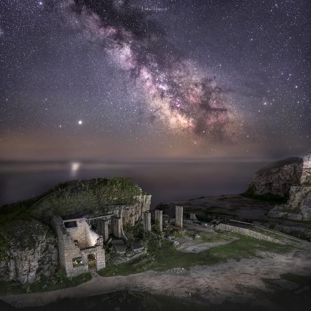 Winspit Quarry Milky Way