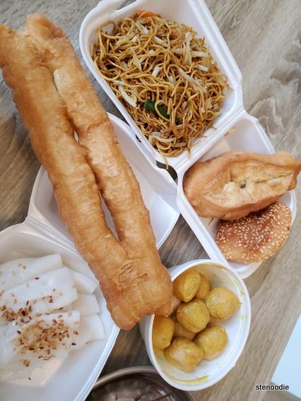 Sam's Congee Delight snacks